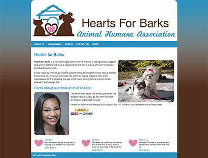 Hearts for Barks