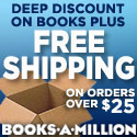 Books-A-Million free shipping web ad