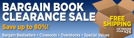 Books-A-Million Bargain Book web ad