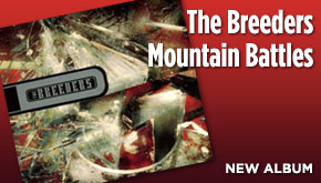 The Breeders Mountain Battles CD web ad